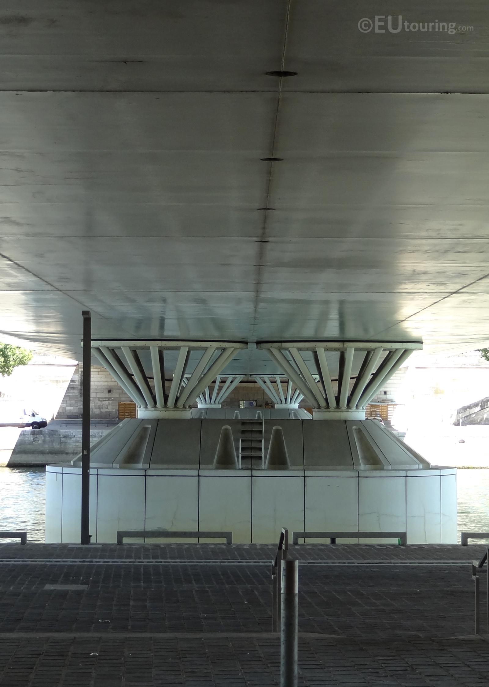 Architecture beneath the bridge