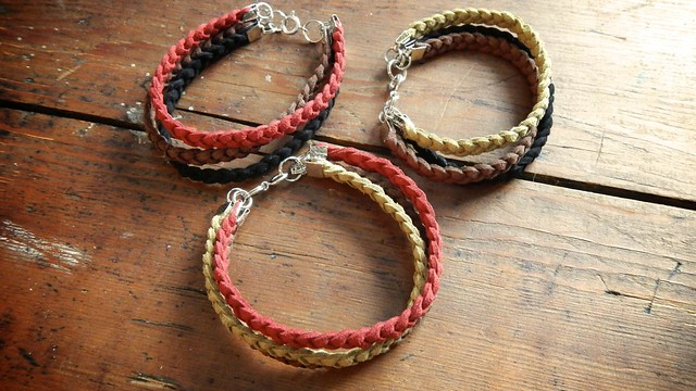 Braided Suede Bracelet 10