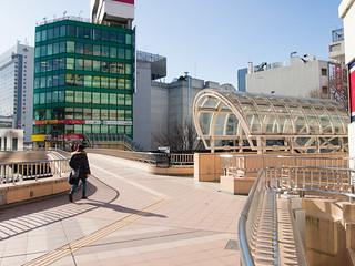 Sendai Pedestrian Deck