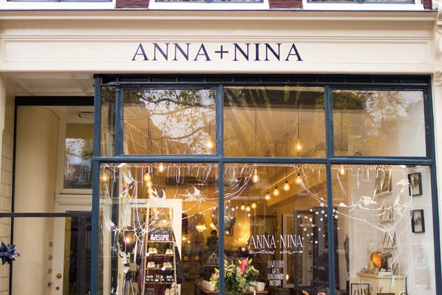 Anna & Nina Amsterdam concept store