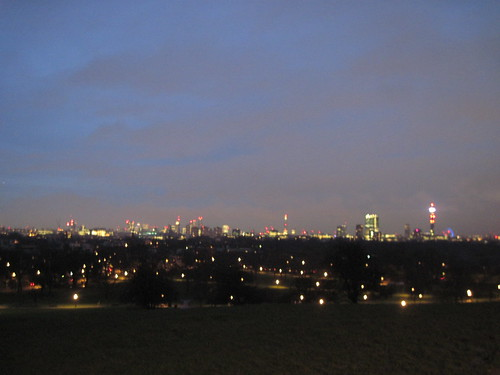 Early Morning on Primrose Hill