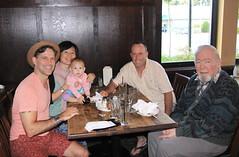 Family gathering @ Ocean Park Pizza