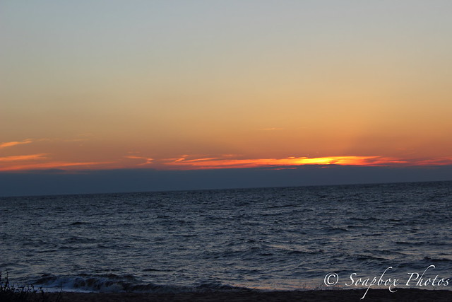 Sunset from sunset beach at cape may point nj december 19 2014
