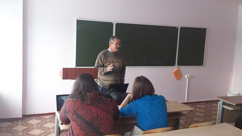 Мастер-класс выпускника 1983 г. Гильермо Леон Кордоба Нието