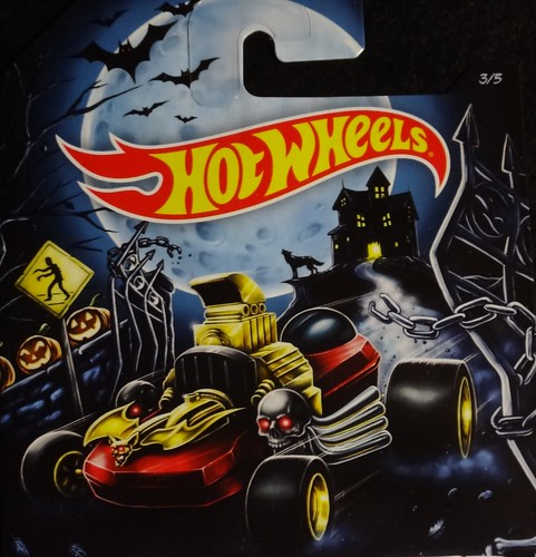 Halloween Hot Wheels 2014 card art