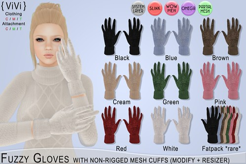 Fuzzy Gloves AD