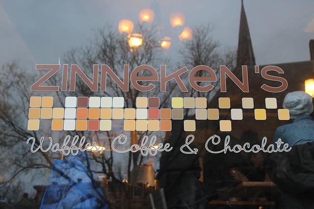 Zinneken's Waffles Storefront