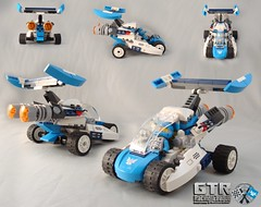 22615 Blue Galaxy Squad Race Rover