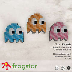 Frogstar - Shiny & New Pixel Ghost Poster