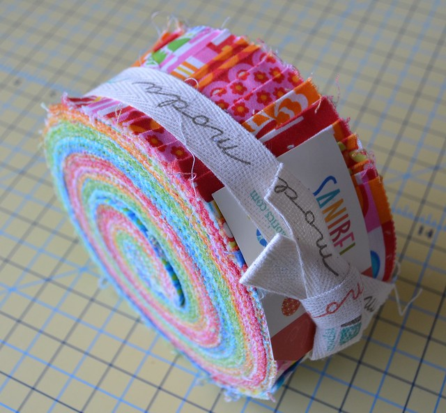 QuiltCon 2015 Moda Party winnings