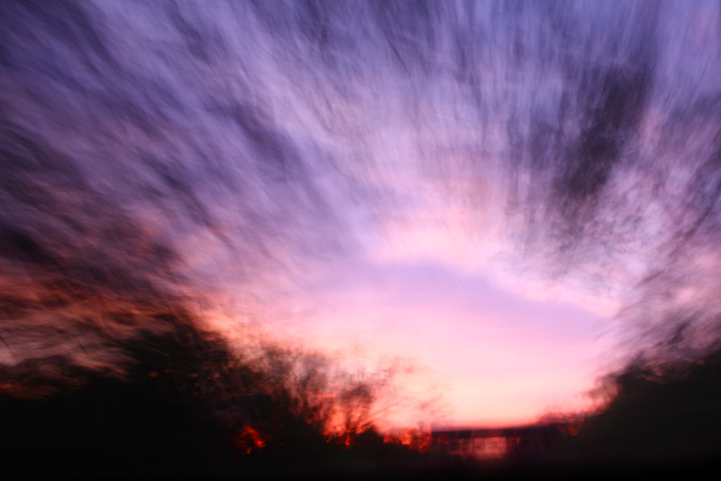 Driving during sunset, Yala National Park