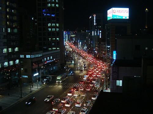 Heilig Abend um 22 Uhr in Korea