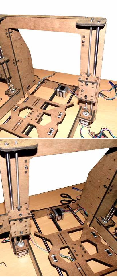 WoodMAX i3 PrintBed Assembly