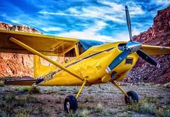 Skywagon at the Hidden Splendor Airstrip