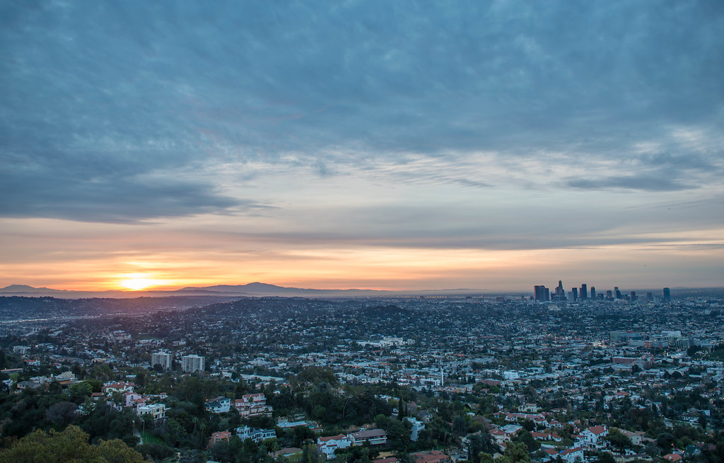 Sunrise Los Angeles, California, Griffith Observatory, California