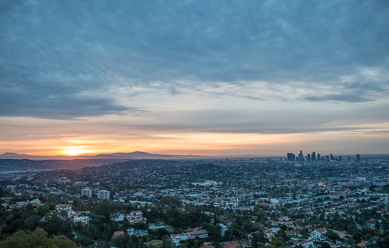 Amanecer en Los Angeles
