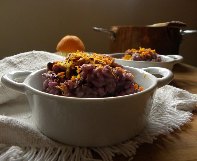 risotto al radicchio rosso e arancia (1)