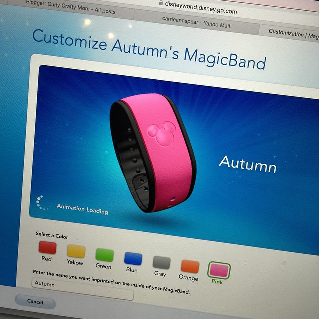 We're going to Disney this summer!! We haven't been there for two years and this whole MagicBand thing is new to us! I think Autumn and I will definitely both get PINK!! 💗💗💗 any tips would be great!! We are doing the dinin