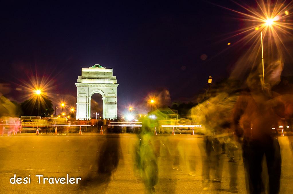 India Gate protests Delhi