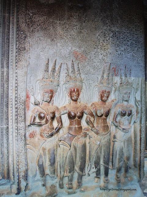 Барельефы Ангкор Вата