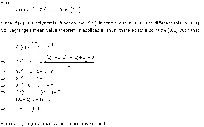 Free Online RD Sharma Class 12 Solutions Chapter 15 Mean Value ...