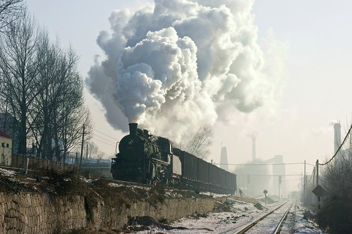 china digital train sunrise trains steam steamlocomotive steampower steamloco standardgauge chinatrains syclass jixicoalrailway