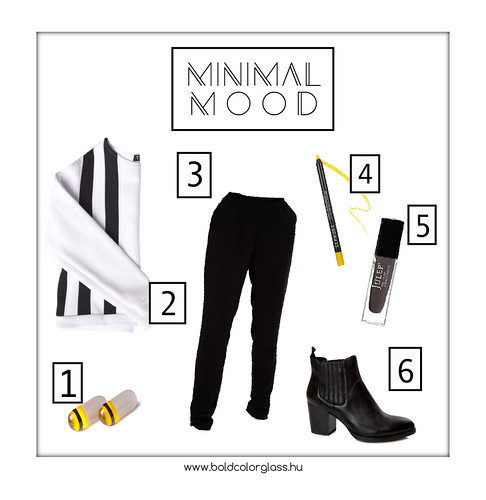 February Outfit Minimal Mood