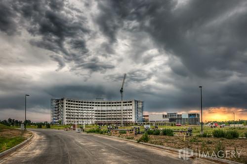 sunset clouds hospital construction owensboro omhs regionalhealth ohrh