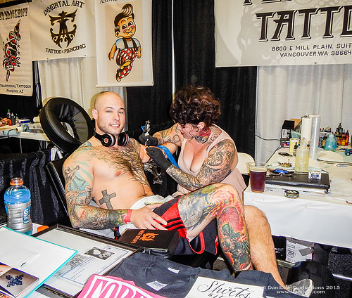 Body Art Expo in Phoenix - Valentine Tattoo Anyone?   DaniLew Slow ...