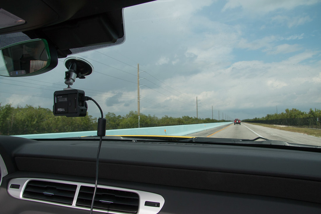Driving along the Overseas highway