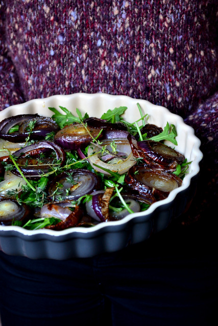 Recipe for Roasted Onion Salad