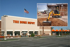 JCB compact excavators are available through Home Depot