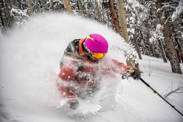 Powder Day at Taos Ski Valley