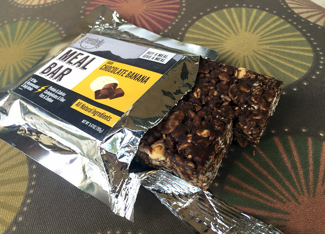 Chocolate Banana Greenbelly meal bar