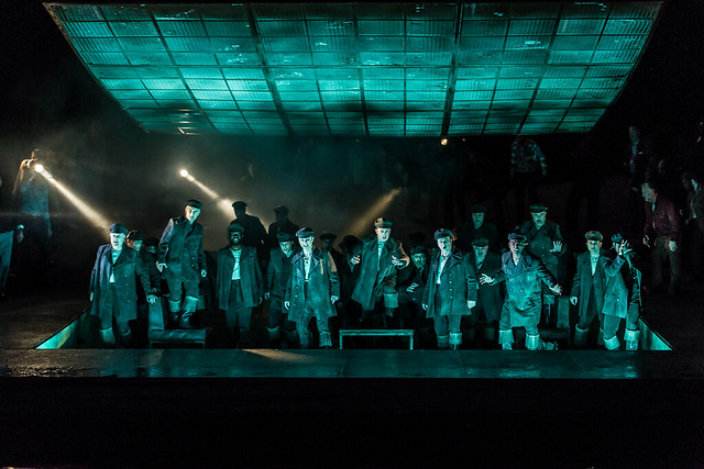 The Royal Opera's Der fliegende Holländer © ROH 2015. Photo by Clive Barda