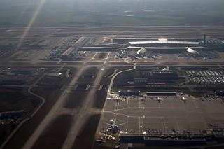 CDG FROM 767 N189DN FLIGHT CDG-ATL