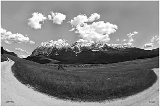LES ALPES Grimming Mountain Alpine Landscape Styria Austria (c) 2015 Бернхард Эггер :: ru-moto images 3563  mono