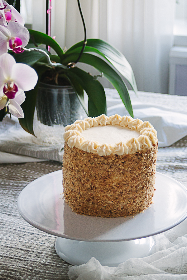 Honey Cake with Sour Crem filling