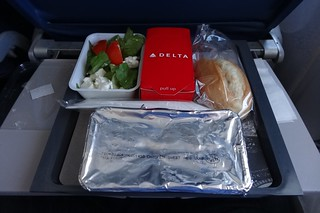 """""""LUNCH BOX DELTA"""" FLIGHT CDG-EWR 767 N173DZ"""