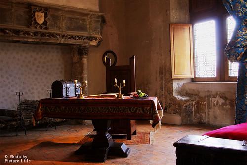 Chambre médiévale - Château de Beaugency