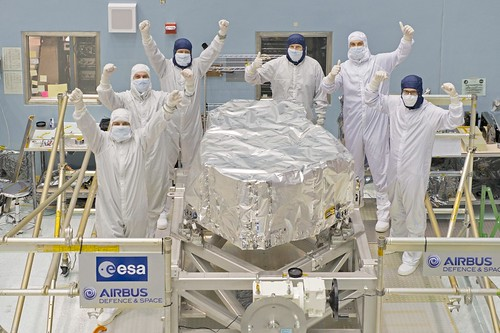 James Webb Space Telescope NIRSpec Upgrades Complete!