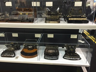 19th century typewriters at the 2015 Consumer Electronic Show