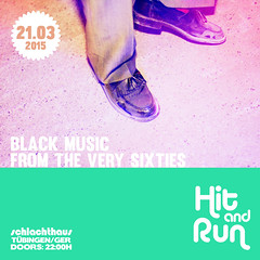 Hit And Run Soul Allnighter, 21.03.2015 Tuebingen, Germany