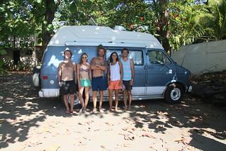 El Horizonte with Ben, Brendan and Bridgette.  El Zonte, El Salvador.