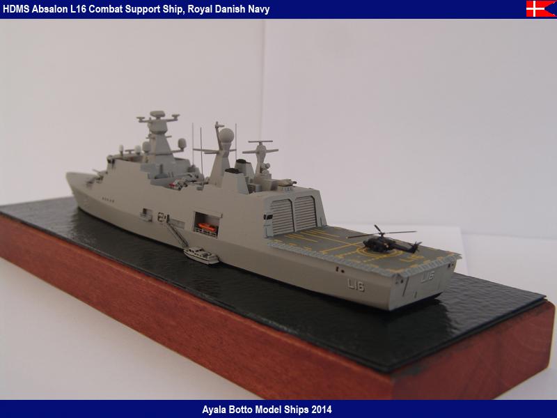 HDMS Absalon L-16  Navire de Soutien Multifonctions - NNT 1/700 16618495876_0692cb2507_c