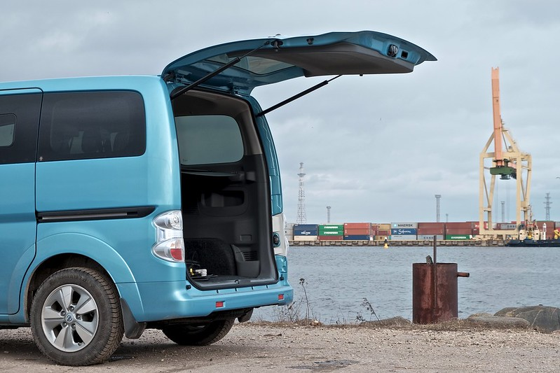 Nissan e-NV200 Evalia electric car