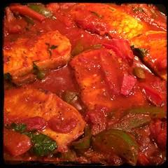 Cucina Dello Zio #homemade #pork #peppers and #paprika #CucinaDelloZio