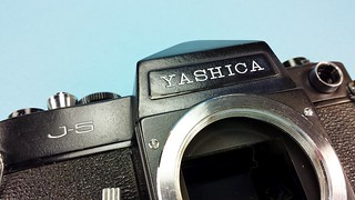 """My """"ultra rare"""" Yashica black body FAKE! Please read on..."""