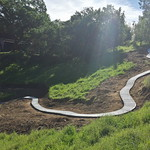 Hill Side Concrete Walkway Completed In Vacaville CA 2