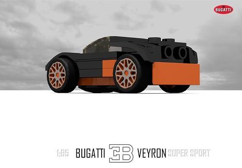 Bugatti Veyron Super Sport (1:65)